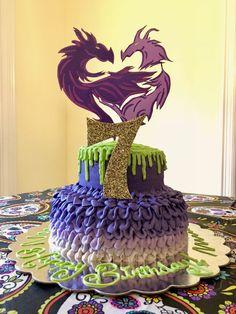 Disney Descendants Birthday Cake Party 2 7th Ideas Kids
