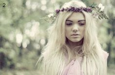 Small and Dainty Flower Crown