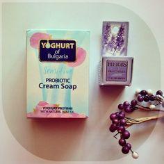 Prirodna kozmetika Bugarska ruža- Probiotic Cream sapun i balzam za usne od lavande - Blender Online