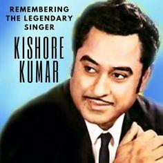 "Remembering the legendary Indian film playback singer, lyricist and composer Kishore Kumar on his birth anniversary. ""Aane Wala Pal Jane Wala Hai"" #kishorekumar #playbacksinger #singer #bollywood"