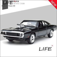 the and the furious dodge charger alloy cars models kids toys wholesale four color metal classical