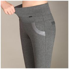 0ccce39e26 Casual or dress, these smart looking Women's Plus Size High Waist Stretch  Pencil Pant Leggings