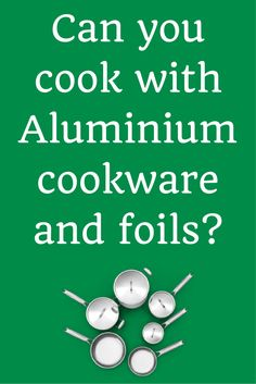 We use Aluminium for a lot of things. And also in cooking. Is it safe to use…