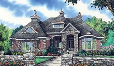 Brick Home Design #1362 Is Now Available