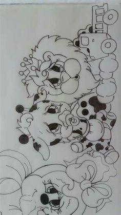 Padrões Para Pintura, Páginas Para Colorir, Modelos De Pintura Colouring Pages, Coloring Pages For Kids, Coloring Books, Pin Up Drawings, Disney Drawings, Tole Painting, Fabric Painting, Painting For Kids, Drawing For Kids