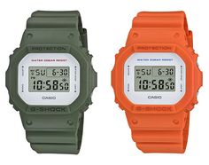 November 2015 sees the classic G-Shock DW-5600M release in a quartet of equally classic colorways.