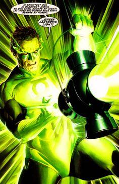 Green Lantern Hall Jordan by Alex Ross and Doug Braithwaite