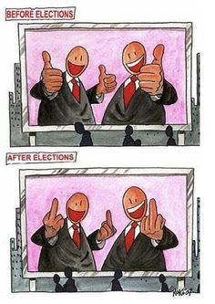 Before And After Elections