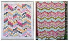 The Sewing Chick | Herringbone Quilt Tutorial