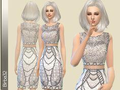 Birba32's Shining silver dress