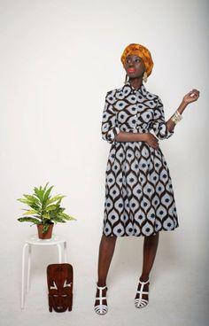 Mazel John dress #africanfashion #print
