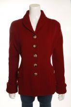 Oscar de la Renta Red Sweater Size L $375.00