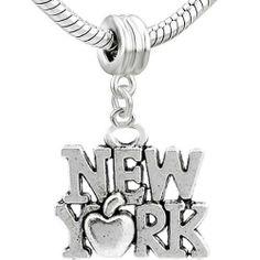 """ New York "" Dangle Bead Charm Spacer Pandora Troll Chamilia Biagi Bead Compatible SEXY SPARKLES,http://www.amazon.com/dp/B00CLIN6VO/ref=cm_sw_r_pi_dp_eULRsb0D1RDHN5YY"
