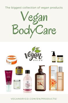 Vegan beauty, body care products