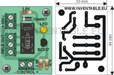 Electronic Circuit Design, Hobby Electronics, Control, Arduino, Diy Projects, Base, Printed Circuit Board, Printed Circuit Board, Electronic Circuit