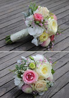 Brautstrauß. Ich liebe die Farben. http://www.weddstyle.de/hochzeit-brautstrauss.html