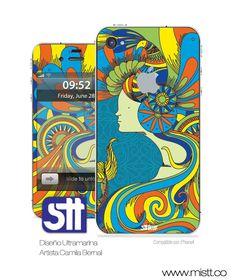 STTIKUP es ideal para personalizar tu iphone 4 dandole tu propio estilo ademas te protege de los rayones es de facil aplicacion y larga durabilidad puedes comprarlo en www.mistt.co por $24000