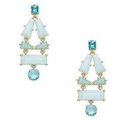 Kate Spade Beach Gem Statement Earrings Gorgeous earrings perfect for summer nights out. See second photo for details. kate spade Jewelry Earrings