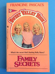 Vintage  Book  Sweet Valley High 45  Family by jHenSunshine