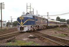 Delaware & Hudson Alco PA4 at Mechanicville, New York by George W. Hamlin