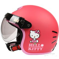Free shipping!!Fashion Halley EVO half capacete,electric bicycle Open face helmets,women's vintage Motorcycle helmet,Hello kitty US $65.00