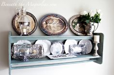 Beneath the Magnolias: Silver, Roses, and Chalk Paint!