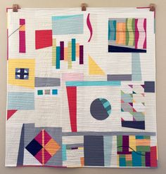 A charity quilt from the Denver Metro Modern Quilt Guild. #DMMQG #MQG Quilting for Charity | Right Sides Together