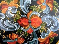 Pictures of telemark rosemaling