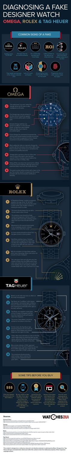 How to Spot a Fake Luxury Watch