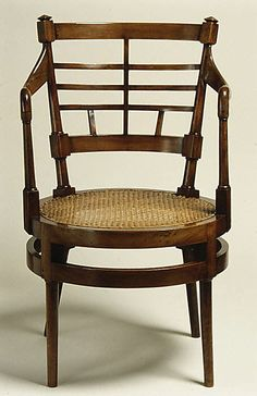 1877 Armchair Edward William Godwin Culture: British