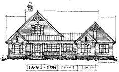 New House Plan #1351 - The Simon