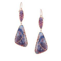 Lana Jewlery Sapphire Femme Earrings