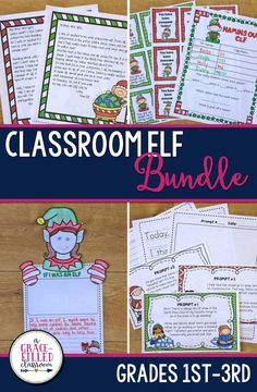 Get ready to see your students' faces light up with excitement as they receive daily notes from their classroom elf! This is the best bundle you can have this Christmas season. Includes: Elf Notes to Your Class and Elf Journal and Writing Prompts|Holiday Activities|Elf|Christmas|