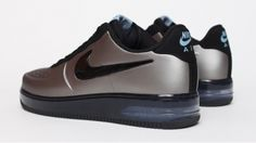 For whatever you have in your closet that doesn't go with the GOLD Nikes. Nike Air Force 1 Foamposite - Gris