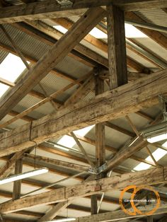 Interior truss detail in outbuilding Arch, Construction, Restaurant, Flooring, Drawing, Detail, Building, Board, Frame