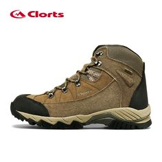 uk availability c86fe 1e0b1 Clorts Men Suede Climbing Boots Waterproof Mountain Shoes Breathable Man  Hiking Boots Outdoor Shoes 3B010D
