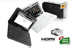 """Acabe com as dúvida e adquira o equipamento que tanta falta lhe faz!!! Tablet 7"""" Android 4.03 + capa com teclado por apenas 119€ em vez de 399€. - Descontos Lifecooler"""