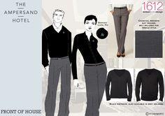 Ampersand Hotel, Design, Fashion, Moda, Fashion Styles, Fashion Illustrations