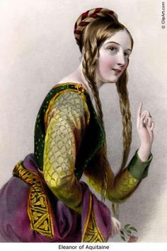 Eleanor of Aquitaine, Queen of Henry II of England  - kings-and-queens Photo