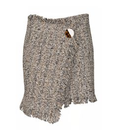 Chanel-inspired tweed skirt material: cotton mix colour: black sizes: S/M, M/L care: hand wash