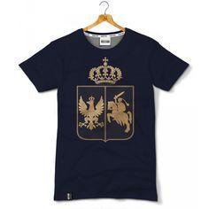 Koszulka patriotyczna Herb Królestwa Polskiego (1830–1831) - odzież patriotyczna, koszulki męskie Red is Bad