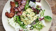 Hønsesalat med bacon og æble | Femina