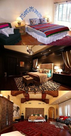 The Beauty of a Mexican Style Bedroom - http://interiordesign4.com/beauty-mexican-style-bedroom/