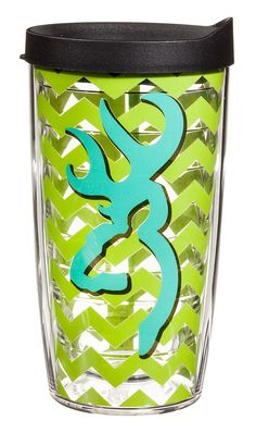Tervis Tumbler® Lime Zigzag Browning® Buckmark Insulated Wrap With Lid | Bass Pro Shops