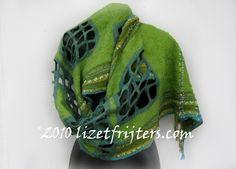 beautiful nuno felted shawls - Recherche Google