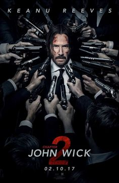 JOHN WICK: CHAPTER 2 movie poster No.2 (Int'l)