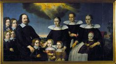 Borgermester Trond Clausen med familie 1640