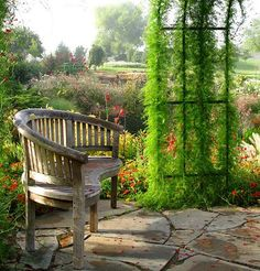 gazebo in the garden