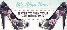 Win a pair of shoes from Blame Betty! I get more entries when you enter, too.. so do it! :)