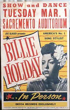 billie holiday posters - Google Search